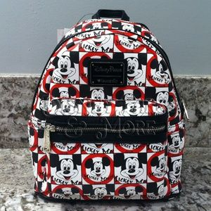 Disney Loungefly Mickey Mouse Club Mini Backpack